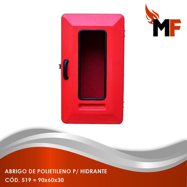 Abrigo de Polietileno para Hidrante