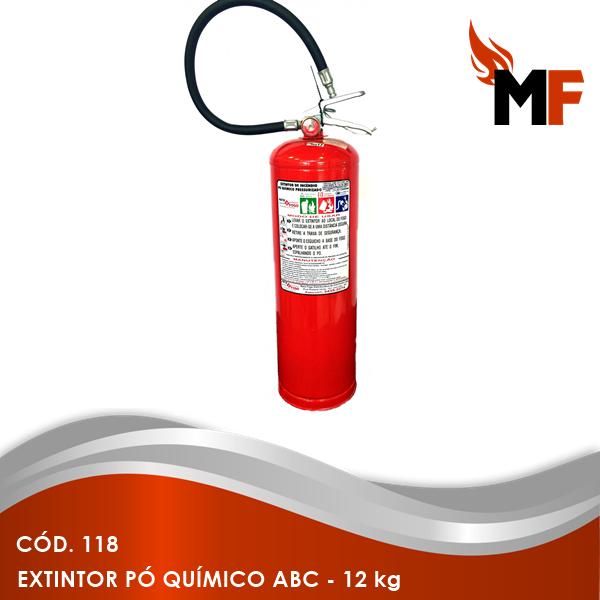 *Extintor Pó Químico ABC - 12 kg