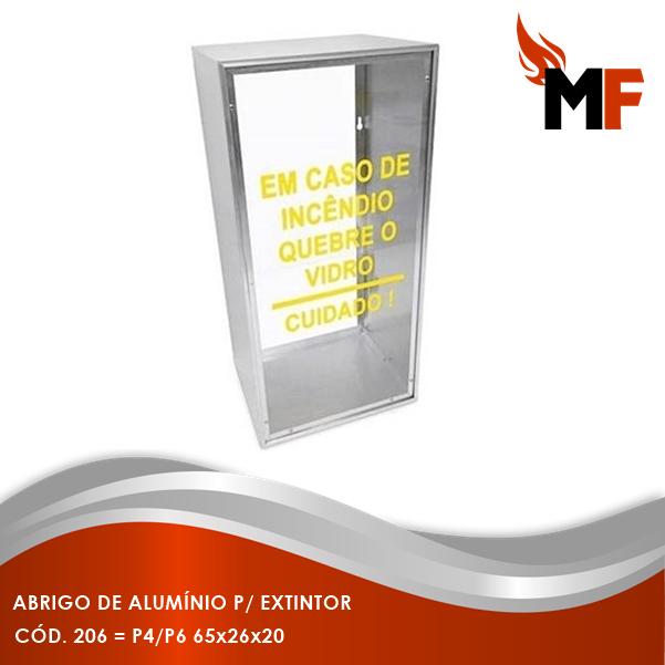 Abrigo de Alumínio para Extintor