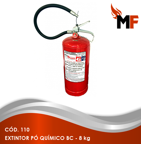 *Extintor Pó Químico BC - 8 kg