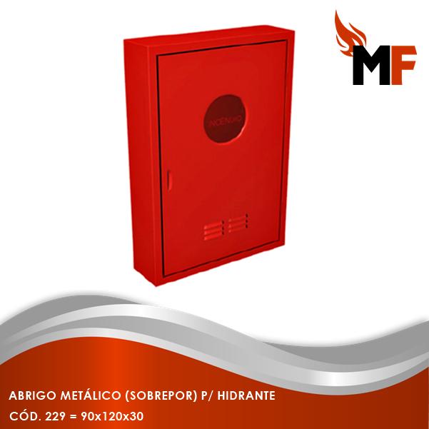 Abrigo Metálico Sobrepor para Hidrante